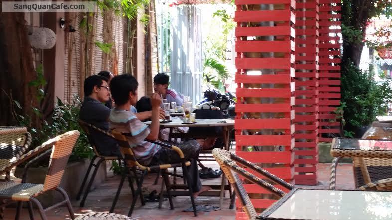 Sang Quán Cafe sân vườn + Phòng máy lạnh