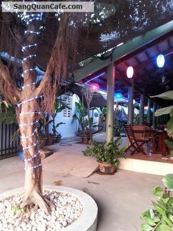 Sang quán cafe Sân Vườn + Võng + Bóng Đá