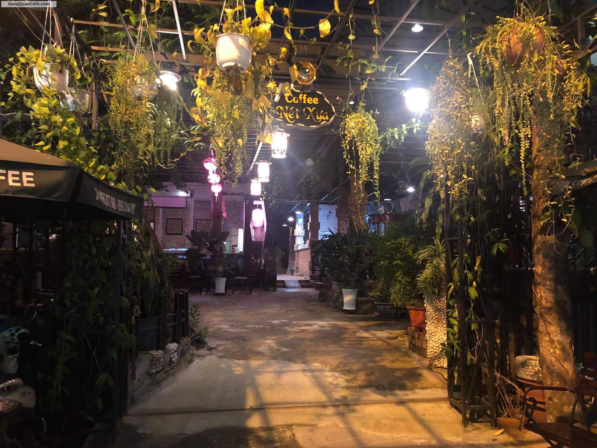 Sang quán cafe sân vườn 1000 m2 quận 12
