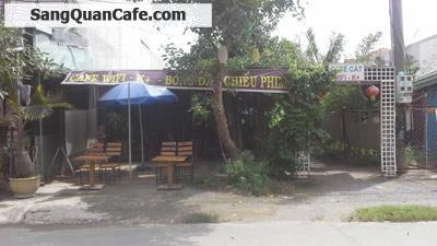 Sang quán cafe sân vườn 2 dãy chòi 330m2
