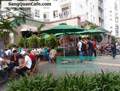 Sang quán cafe sân vườn 2 MT CC Hà Đô