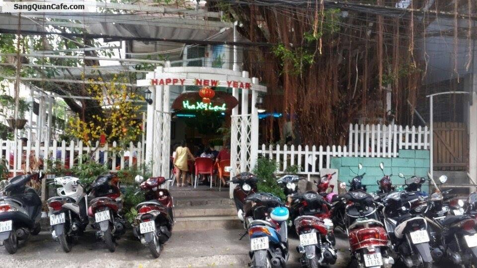 Sang Quán Cafe Sân Vườn 2 mặt tiền quận Tân Phú