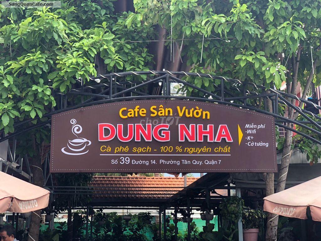 Sang quán cafe sân vườn đang hoạt động rộng 300m2