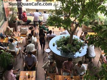 Sang Quán café sân vườn đang kinh doanh tốt.