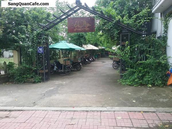 Sang gấp quán café sân vườn độc lạ tại Hóc Môn