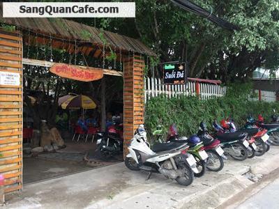 Sang quán cafe sân vườn đông khách giá rẻ