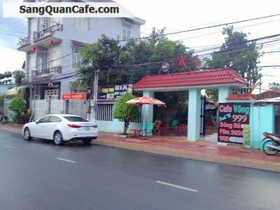 Sang quán cafe sân vườn DT trên 300m2 đường Phan Đình Giót Bình Dương
