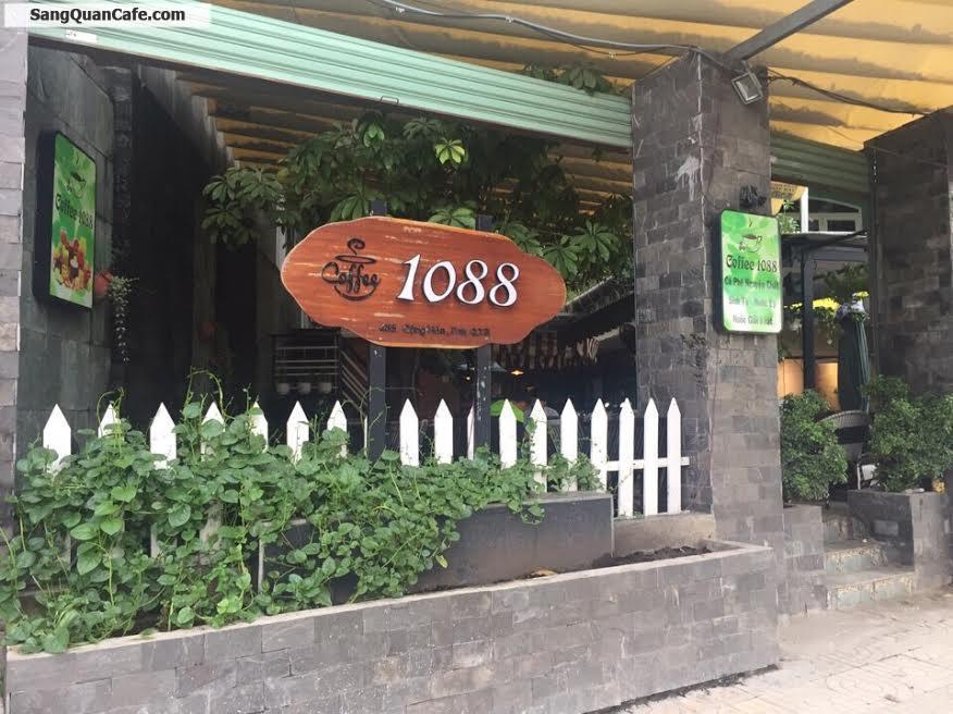 Sang quán cafe sân vườn dường Công Hòa