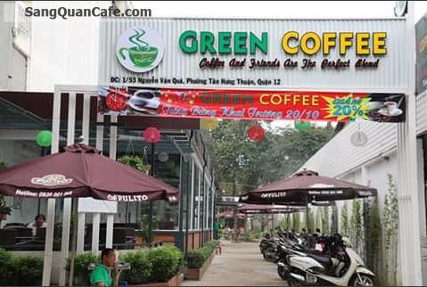 Sang Quán Cafe Sân Vườn đường Nguyễn Văn Quá, P.ĐHT, Q.12