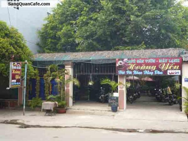 Sang quán cafe sân vườn đường Phan Huy ích