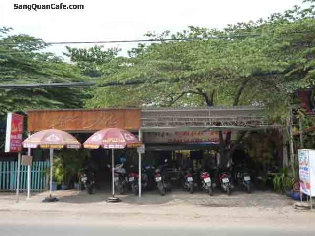 Sang quán cafe sân vườn đường Phan Văn Hớn