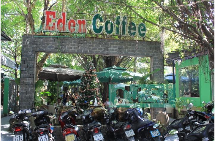 Sang quán cafe sân vườn đường Trường Chinh quận 12