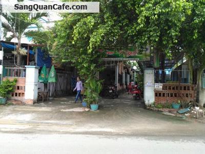 Sang quán cafe sân vườn giá rẻ sát đại học Thủ Dầu 1