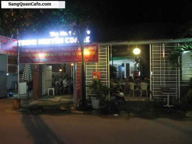 Sang quán cafe Sân Vườn Gò Vấp