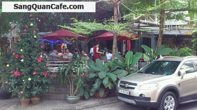 Sang quán cafe sân vườn Góc 3 mặt tiền