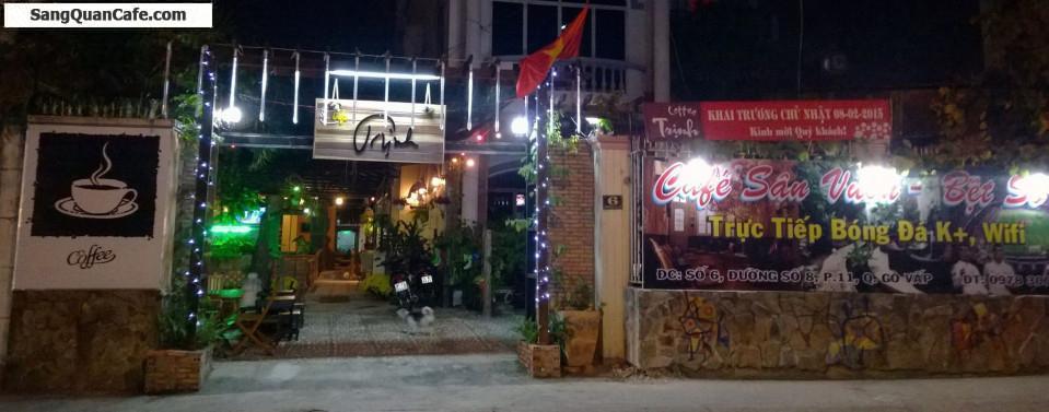 Sang quán cafe sân vườn hát với nhau Quận Gò Vấp