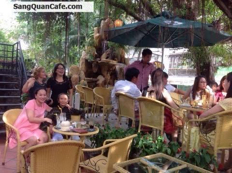 Sang quán cafê Sân Vườn khu Thanh Đa