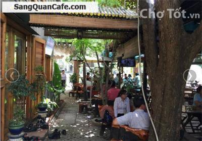 Sang quán cafe sân vườn khu Trung Sơn