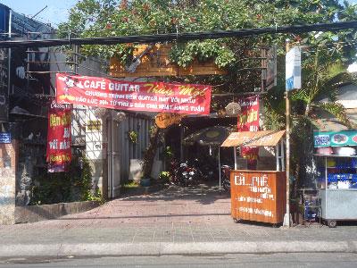 Sang quán cafe sân vườn Lê Văn Thọ, P.8, Q.Gò Vấp