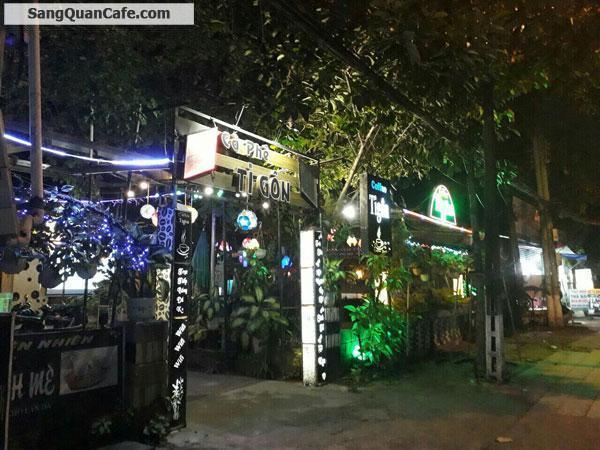 Sang quán cafe sân vườn mặt tiền Lê Hồng Phong