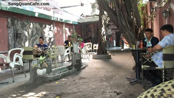 Sang quán cafe sân vườn mặt tiền quận 12