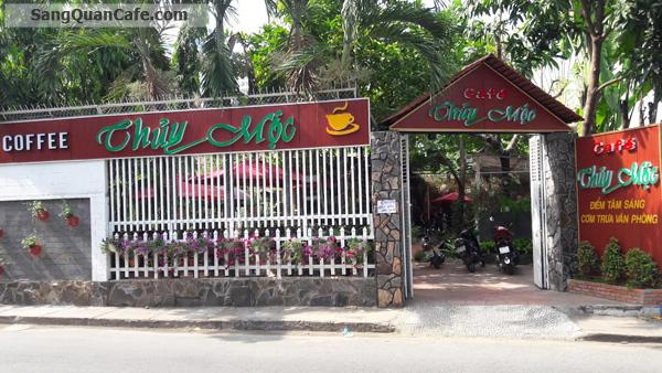 Sang quán cafe sân vườn+ máy lạnh