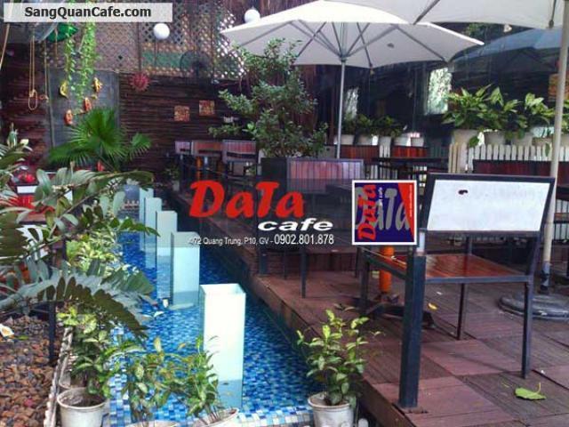Sang quán cafe sân Vườn - Máy Lạnh, Quang Trung