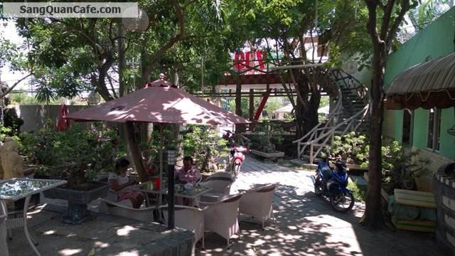 Sang quán cafe sân vườn ngay trung tâm Bình Chánh