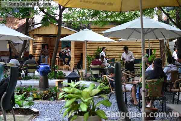 Sang quán cafe sân vườn đường Phan Huy Ích, Gò Vấp