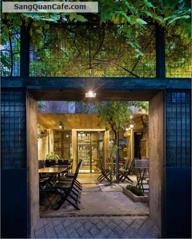 Sang quán cafe sân vườn Quận 3