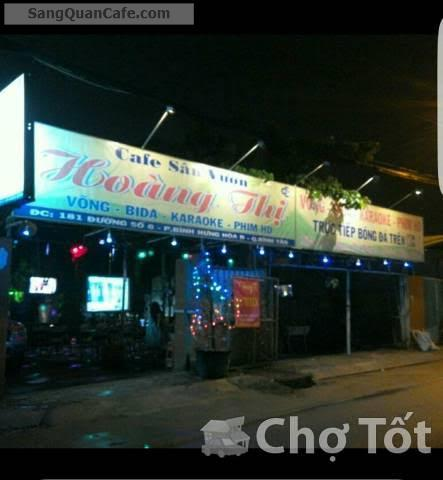 Sang quán cafe sân vườn quận Bình Tân