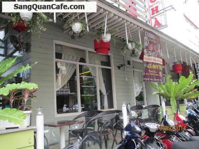 Sang quán cafe sân vườn quận Phú Nhuận