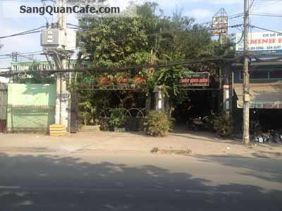Sang quán cafe sân vườn tại Hóc Môn.