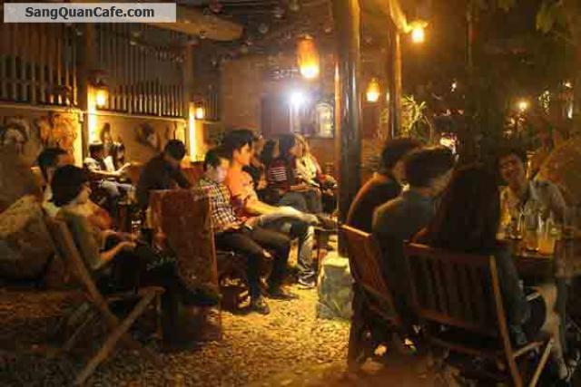 Sang quán cafe sân vườn tại Hóc Môn