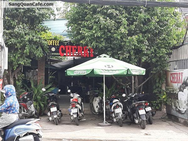 Sang quán cafe Sân Vườn vị trí đẹp