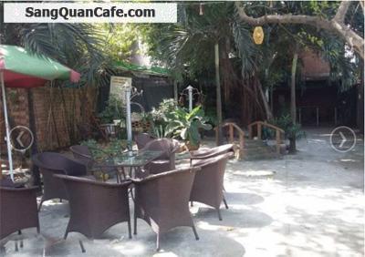 Sang quán cafe sân vườn, võng 450m2, ngã tư Tran Chánh