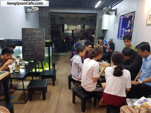 Sang quán cafe sau tóa nhà  Pearl Plaza