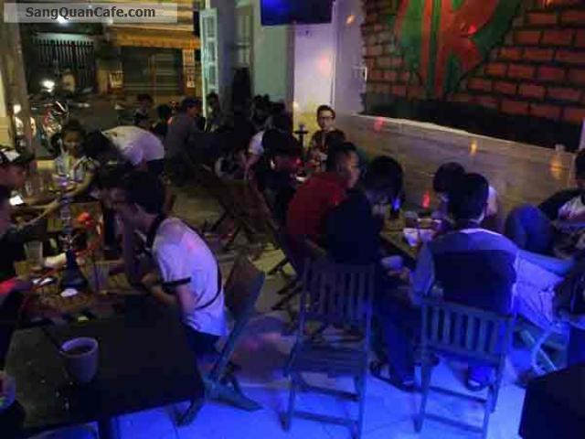 Sang quán cafe Shisha đường Vườn Lài