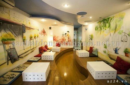 Sang quán cafe Shisha Karaoke, số 42 Ba Đình, Hà Nội.