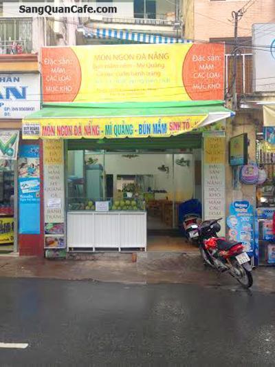 Sang quán cafe  - sinh tố , nước ép, thức ăn