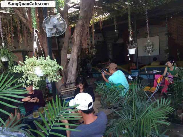 Sang quán cafe sinh tố mặt tiền đường