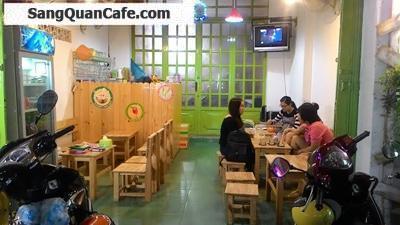 Sang quán cafe sinh tố mặt tiền khu K 300