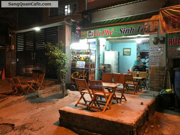 Sang quán cafe - Sinh tố mặt tiền quận Thủ đức