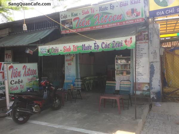 Sang quán Cafe, sinh tố, trà sữa Bình Tần
