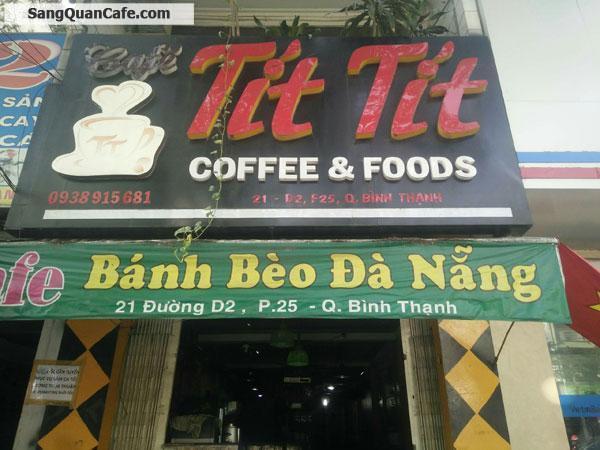 Sang quán Cafe Tại đường D2