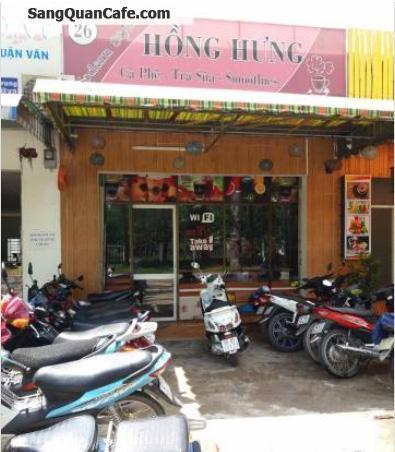 Sang quán cafe tại trường đại học Nông Lâm