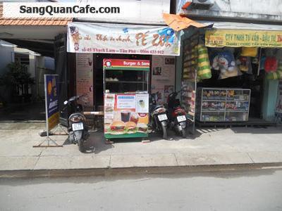 Sang quán cafe take away + Trà Sữa + Hamburger