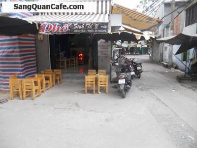 Sang quán cafe Take Away 2 mặt tiền quận 4