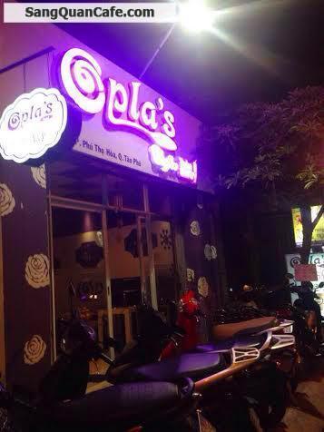 Sang quán cafe Take Away đẹp 160 triệu quận Tân Phú