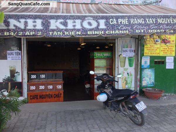 Sang quán cafe take way đường song hành